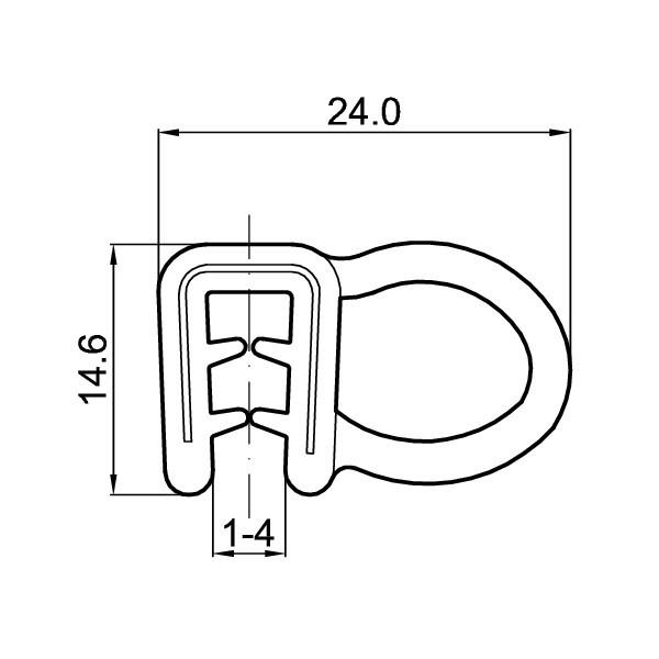 Uszczelka GST-125-EN45545